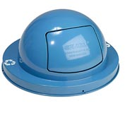 Steel Dome Lid - Light Blue