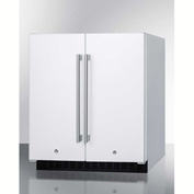 Frost-Free Refrigerator-Freezer, White,  5.4 Cu. Ft. Capacity