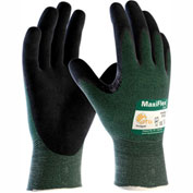 PIP Cut™ MaxiFlex Gloves, Black Micro-Foam Nitirle Coated Knit Glove, Large, 12 Pairs