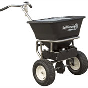 SaltDogg Walk Behind Salt Spreader W/ Stainless Steel Frame, 100 Lb. 1.5 Cu. Ft. Capacity - WB201G
