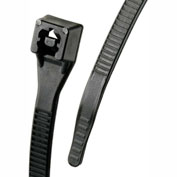 "Gardner Bender 46-314UVBFZ 14"" Xtreme Temp Cable Ties, Black, 50lb, 100/pk"