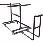 Queue ™ Solutions Barricade Cart, 30 Barricades, BARR-CART