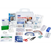 North FAK25PL-CLSA First Aid Kit, 25 Person, 120 Pieces, Class A, Plastic Case