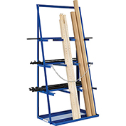 "Vertical Bar Rack 39""W x 24""D x 84""H - 3000 LB Capacity"