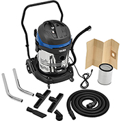 Global™ 16 Gallon Stainless Steel Wet Dry Vacuum