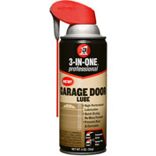 WD-40 ® 3-In-One ® Garage Door Lube - 11 oz. Aerosol Can - 100581 - Pkg Qty 6
