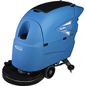 "Global™ Auto Floor Scrubber 20"" Cleaning Path, Two 115 Amp Batteries"