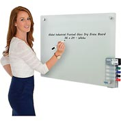 Frosted Glass Dry Erase Board - 36 x 24