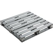"Global Industrial™ Galvanized Steel Pallet - 36""L x 36""W x 4-3/4""H"