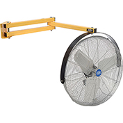 Global Industrial 24 Inch Double Arm Loading Dock Fan