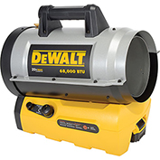 DeWalt DXH70CFA - Forced Air Propane Heater - 68000 BTU 20V Cordless