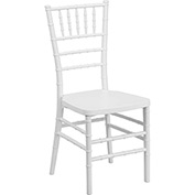 Chiavari Chairs - Resin - White - Pkg Qty 4