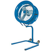 Patterson HV-18 High Velocity Pedestal Fan, 18 Inch, 230/460V, 3PH w/ Yoke