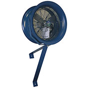 Patterson HV-18 High Velocity Wall Mount Fan, 18  Inch, 115V, 1PH w/ Yoke