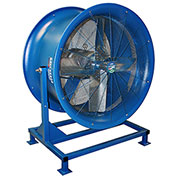 Patterson HV-34 High Velocity Floor Stand Fan, 34 Inch, 230/460V, 3PH w/ Yoke