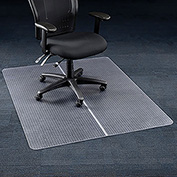 "Office Chair Mat for Carpet - 36""W x 48""L   - Straight Edge"