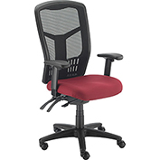 Mesh Task Chair - Fabric - Red