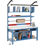 Complete Electronic Packaging Workbench ESD Safety Edge - 60 x 30