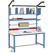 Packaging Workbench ESD Safety Edge - 60 x 30 with Riser Kit
