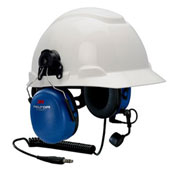 3M™ MT7H79P3E-FM-50 Peltor™ FM Approved Headset, Hard Hat Attached