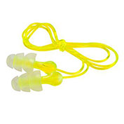 3M™ Tri-Flange Earplugs, Corded, Hearing Conservation P3000, 100-Pair