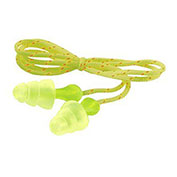 3M™ Tri-Flange™ Cloth Corded Earplugs P3001, 400 Pairs