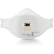 3M™ Aura™ 9211+ Particulate Respirator N95, 10/Box, 20 Boxes/Case