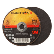 "3M™ Cubitron™ II Cut-Off Wheel 66516 T1 3"" x .06"" x 3/8"" Ceramic Grain"