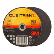 "3M™ Cubitron™ II Cut-Off Wheel 66518 T1 4"" x .035"" x 3/8"" Ceramic Grain"