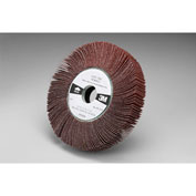 "3M™ Flap Wheel 741A  6"" x 1"" x 1"" 80 Grit Ceramic - Pkg Qty 5"