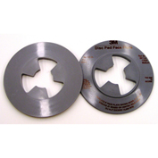 "3M™ Disc Pad Face Plate 13325, 4-1/2"" Medium Gray - Pkg Qty 10"
