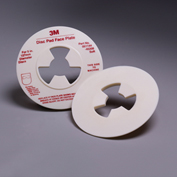 "3M™ Disc Pad Face Plate 45208, 5"" Soft White - Pkg Qty 10"