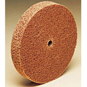 "3M™ Scotch-Brite™ Cut and Polish Unitized Wheel 3"" x 1/4"" x 1/4"" Aluminum Oxide 7A MED"