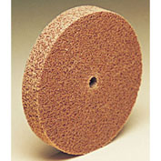 "3M™ Scotch-Brite™ Cut and Polish Unitized Wheel CP-UW 2"" x 1/4"" x 1/4"" Alum. Oxide MED - Pkg Qty 60"