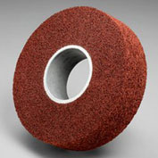"3M™ Scotch-Brite™ Metal Finishing Wheel MF-WL 8"" x 3"" x 2"" Aluminum Oxide MED - Pkg Qty 2"