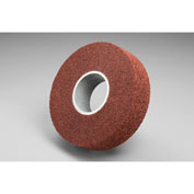 "3M™ Scotch-Brite™ Metal Finishing Wheel MF-WL 8"" x 3"" x 2"" Aluminum Oxide Medium - Pkg Qty 2"