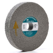 "3M™ Scotch-Brite™ EXL Deburring Wheel 6"" x 1"" x 1"" Silicon Carbide 9S FIN"