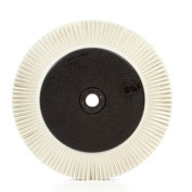 "3M™ Scotch-Brite™ Radial Bristle Brush 8"" x 1"" x 1 1/4"" Ceramic 120 Grit - Pkg Qty 2"