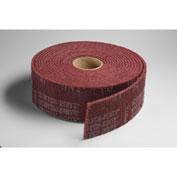"3M™ Scotch-Brite™ Clean and Finish Roll 4"" x 10 YDS Aluminum Oxide VFN Grit"