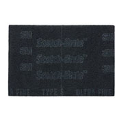 "3M™ Scotch-Brite™ 7448 PRO Hand Pad 6"" x 9"" Silicon Carbide ULF Grit-20 Pads"