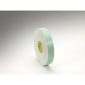 "3M Double Coated Urethane Foam Tape 4016 1"" x 36 Yds 3 Mil Off White - Pkg Qty 9"