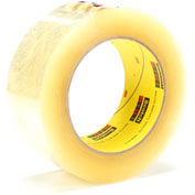 3M Carton Sealing Tape 372 48mm x 100m 2.2 Mil Clear - Pkg Qty 36