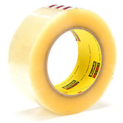 3M Carton Sealing Tape 373 48mm x 100m 2.5 Mil Clear - Pkg Qty 36