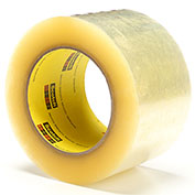 3M Carton Sealing Tape 373 72mm x 100m 2.5 Mil Clear - Pkg Qty 24