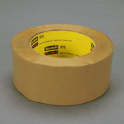 3M Carton Sealing Tape 373 48mm x 100m 2.5 Mil Tan - Pkg Qty 36