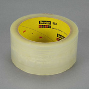 3M Carton Sealing Tape 353 48mm x 50m 1.9 Mil Clear - Pkg Qty 36