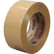 3M Carton Sealing Tape 375 48mm x 50m 3.1 Mil Tan - Pkg Qty 36