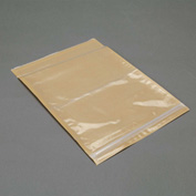 "3M Non-Printed Resealable Packing List Envelope PLE-NPZXL 10"" x 12-1/2"" 5 Mil Clear - 500 Pack"