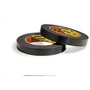 3M Reinforced Strapping Tape 862 18mm x 330m 4.6 Mil Black - Pkg Qty 12
