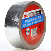"3M™ FSK Facing Tape 3320 Silver, 1-7/8"" x 150', 6.7 Mil - Pkg Qty 24"